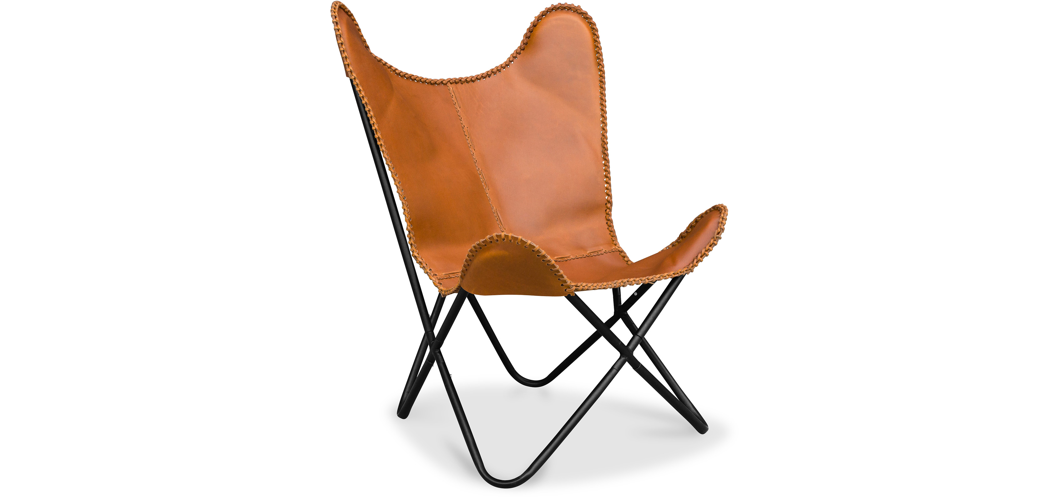 butterfly chair copper htm emmen charcoal leather amp