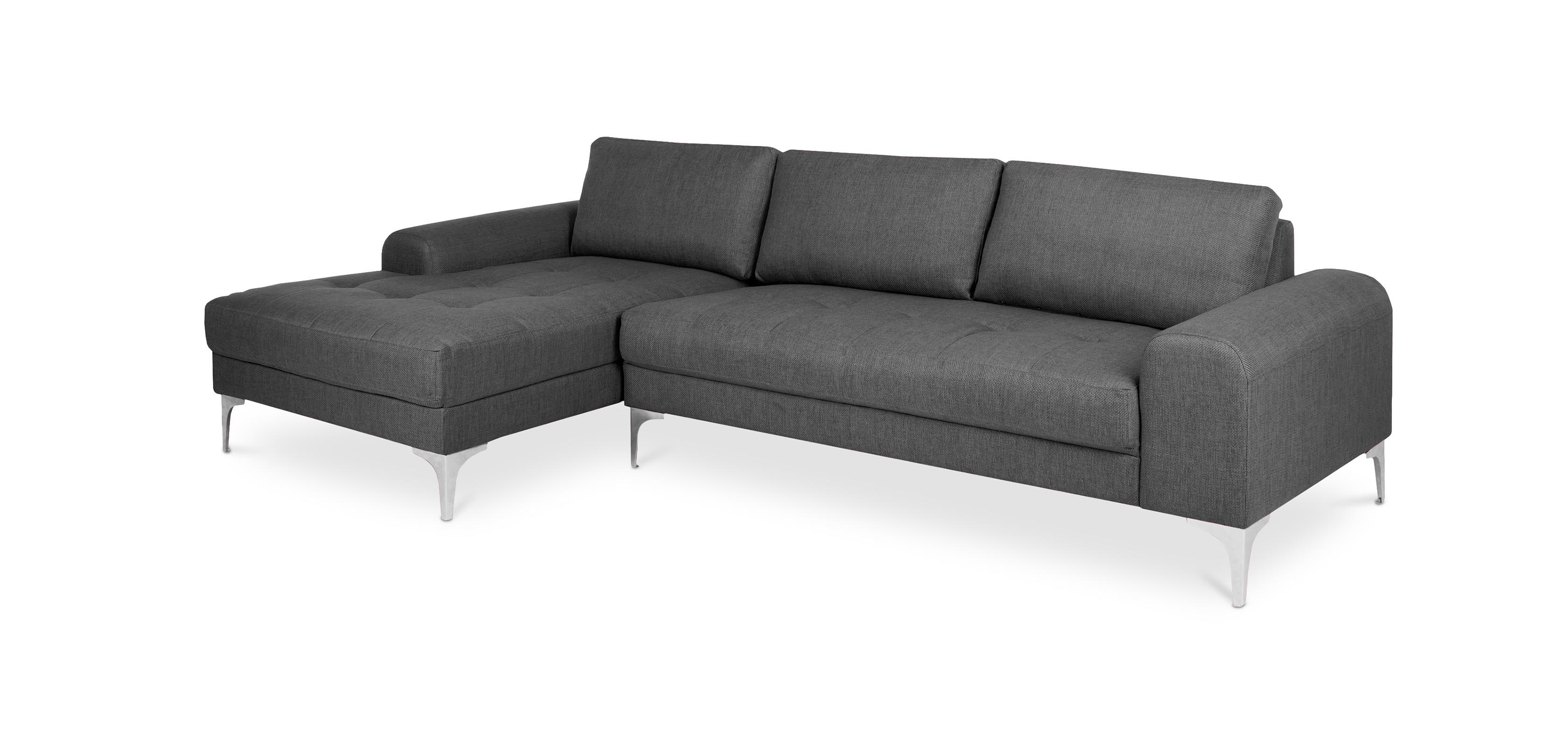 Living room Corner Sofa 5 seats Fabric