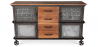 Buy Zuri Darwick wooden sideboard Steel 58581 - in the UK