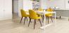 Buy Premium Evelyne Dining Chair - Dark legs Yellow 58982 - prices