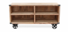 Buy Industrial style TV cabinet - Kanda Natural wood 59071 - prices