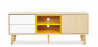 Buy TV unit sideboard Daven - Wood Yellow 59657 - in the UK