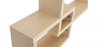 Buy Scandinavian style wall shelf 3 boxes - Wood Natural wood 59645 in the United Kingdom