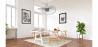 Buy Vertical Hanging Lamp 100cm - Metal Black 59905 with a guarantee