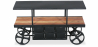 Buy Vintage Industriel Design Truck Console Table - Metal Black 58255 home delivery