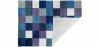 Buy Cubes Wool Carpet Blue 58287 - prices