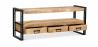 Buy Onawa vintage industrial style TV plasma Stand Natural wood 58471 at Privatefloor