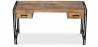 Buy Vintage industrial wooden desk Natural wood 58476 - prices