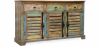 Buy Vintage Large wooden sideboard  Multicolour 58500 home delivery