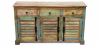 Buy Vintage Large wooden sideboard  Multicolour 58500 - prices