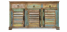 Buy Vintage Large wooden sideboard  Multicolour 58500 - in the UK