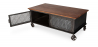 Buy Industrial style Coffee table with wheels Steel 58576 at Privatefloor