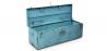 Buy Industrial vintage design locking trunk Blue 58326 at Privatefloor