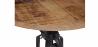 Buy Vintage industrial coffee table metal Black 27776 in the United Kingdom