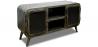 Buy Industrial antique vintage TV cabinet Grange&Co iron Steel 54023 - prices