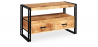 Buy Vintage industrial style Tv unit Natural wood 58466 - in the UK