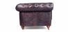 Buy Chesterfield Sofa - 2 seats - Premium Leather Vintage brown 36722 at Privatefloor
