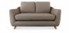 Buy Scandinavian style Sofa Fabric Brown 58242 - in the UK