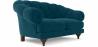 Buy 2 seater Chesterfield style sofa - Nolan Black 58682 - prices