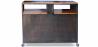 Buy Vintage Sideboard - Industrial Steel and Wood Black 27747 in the United Kingdom