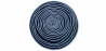 Buy Wool Round Carpet Multicolour 58290 - in the UK