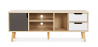 Buy TV unit sideboard Aren - Wood Grey 59660 - prices
