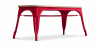Buy Style Tolix Bench - Light Wood Red 59873 home delivery