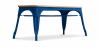 Buy Style Tolix Bench - Light Wood Dark blue 59873 - prices