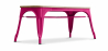 Buy Style Tolix Bench - Light Wood Fuchsia 59873 - in the UK