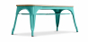Buy Style Tolix Bench - Light Wood Pastel green 59873 with a guarantee