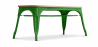 Buy Style Tolix Bench - Light Wood Dark green 59873 - prices