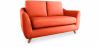 Buy Scandinavian style Sofa Fabric Orange 58242 home delivery