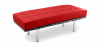 Buy Barcelona Bench Ludwig Mies van der Rohe Red 13219 in the United Kingdom
