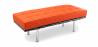 Buy Barcelona Bench Ludwig Mies van der Rohe Orange 13219 - in the UK