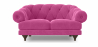Buy 2 seater Chesterfield style sofa - Nolan Pink 58682 at Privatefloor