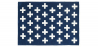 Buy Crosses scandinavian carpet Dark blue 58455 - prices