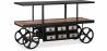 Buy Vintage Industriel Design Truck Console Table - Metal Black 58255 - in the UK
