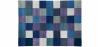 Buy Cubes Wool Carpet Blue 58287 - in the UK