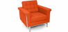 Buy Armchair - Ludwig Mies van der Rohe style - Fabric Orange 13179 home delivery