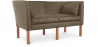 Buy Scandinavian design Sofa 2214 (2 seats) - Børge Mogensen style - Premium Leather Taupe 13919 in the United Kingdom