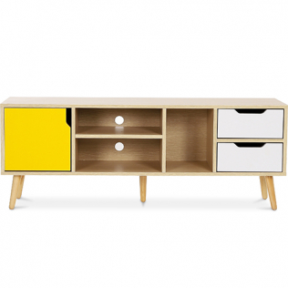 Buy TV unit sideboard Aren - Wood Yellow 59660 at Privatefloor
