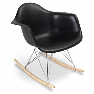 Buy Rarwick Rocking Chair - Matt Black 13153 at Privatefloor