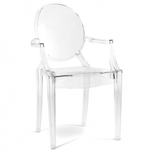 Buy Louis XIV Armchair Transparent 16461 home delivery