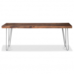 Buy Hairpin design Bench Black 58437 in the United Kingdom