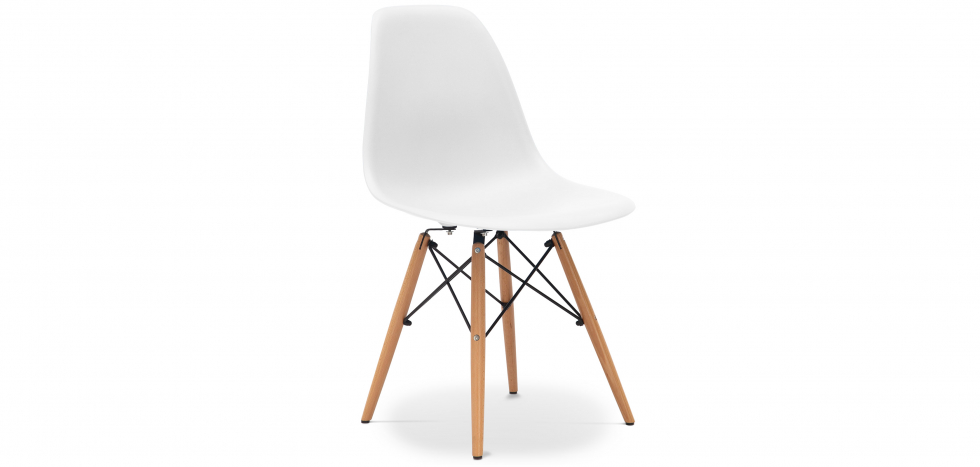 Buy Deswick Chair Premium Quality White 59665 - in the UK