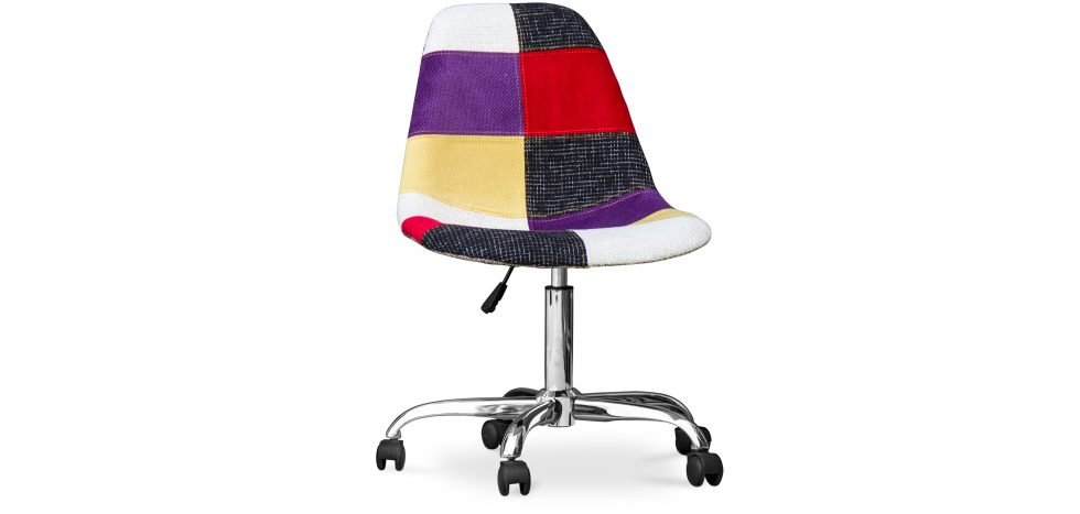 Buy Deswick Office Chair - Patchwork Tessa  Multicolour 59865 - in the UK