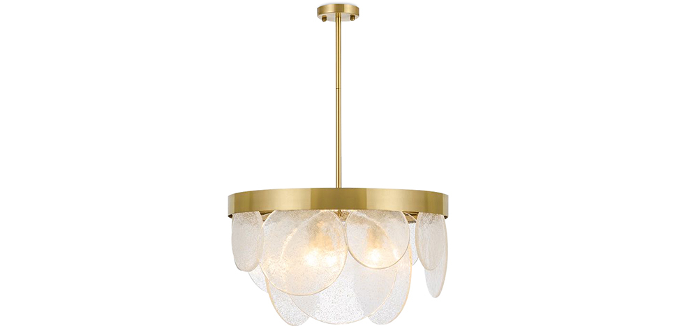 Buy Crystal Hanging  Lamp Gold 59928 - in the UK
