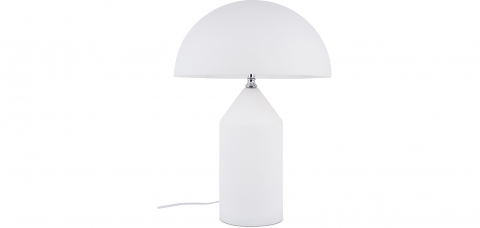 Buy Locly Desk Lamp - White - Glass White 13291 - in the UK