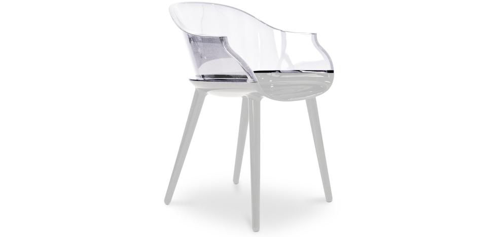 Buy Magis Design Chair Transparent 29577 - in the UK