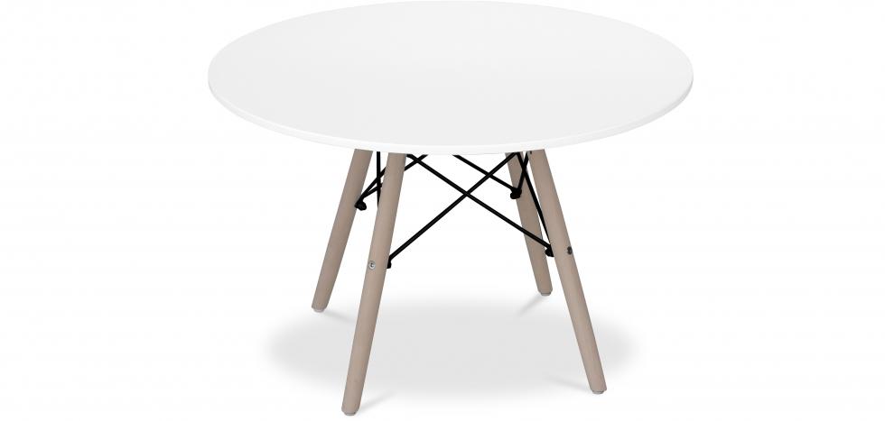 Buy Deswick Kids Table - Wood White 58280 - in the UK